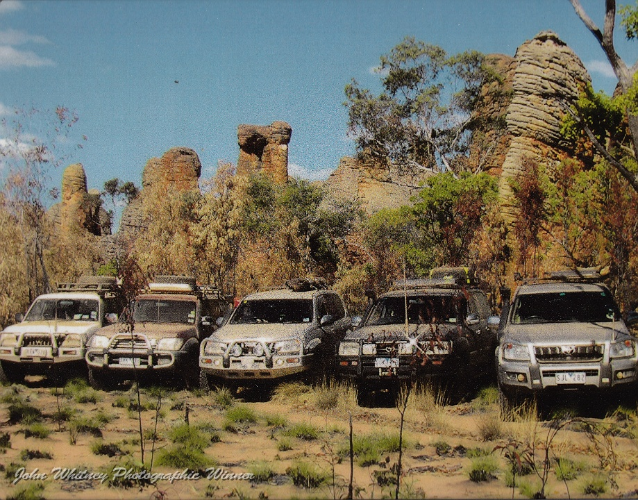 2010 Convoy at Western Lost City Photo by Liz Mills